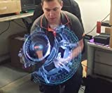 LED Fan Creates Holograms and 3D Drawings - outdoor-lighting