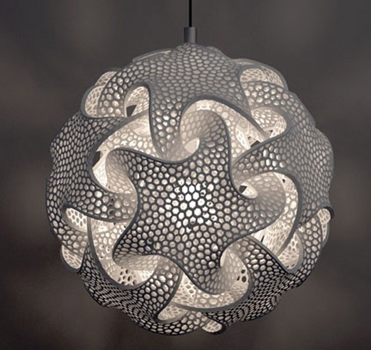 3D Printed Pendant Lighting