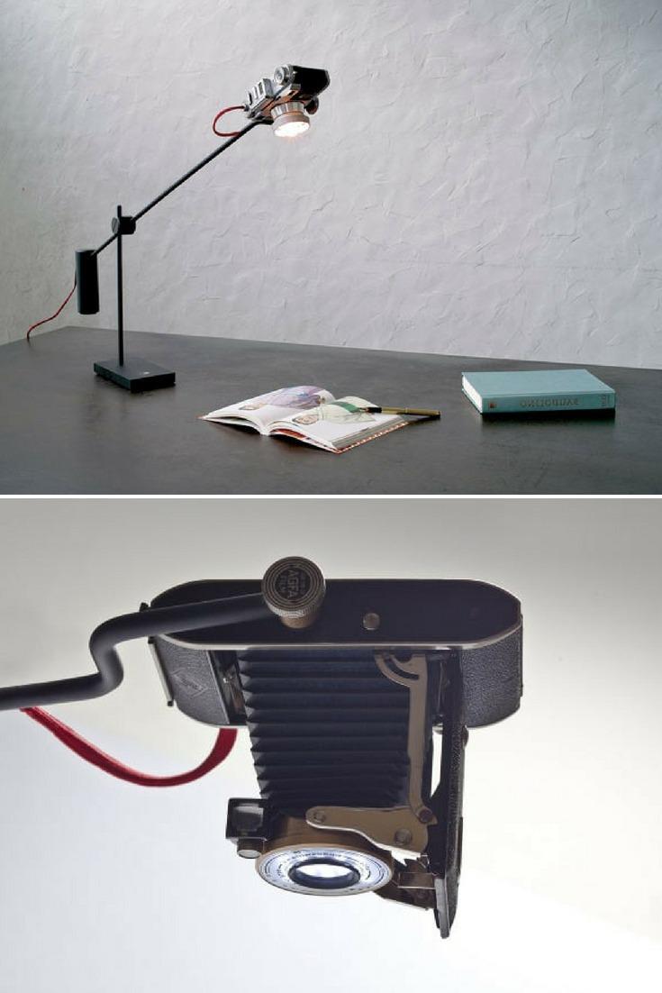Camera Reborn Desk Lamp - desk-lamps