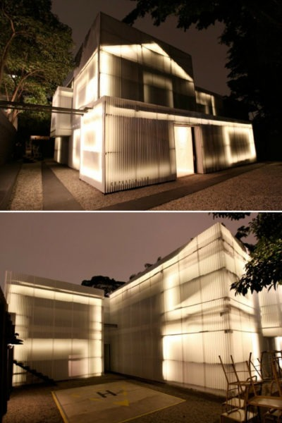 Casa do Lado in sao paulo brazil Outdoor Lighting