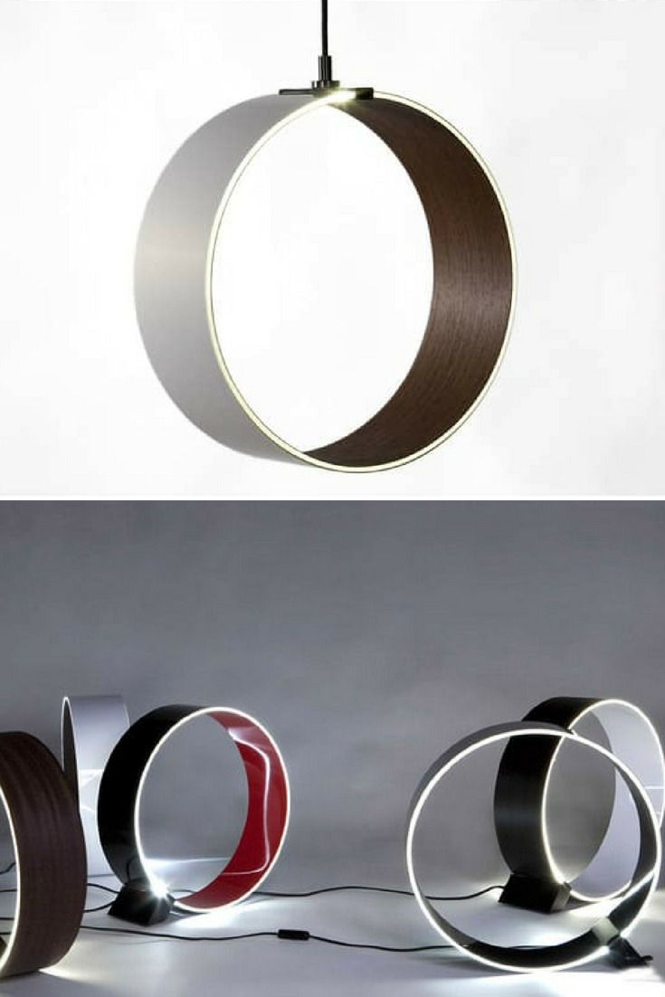 Circular Modern Table Lamp