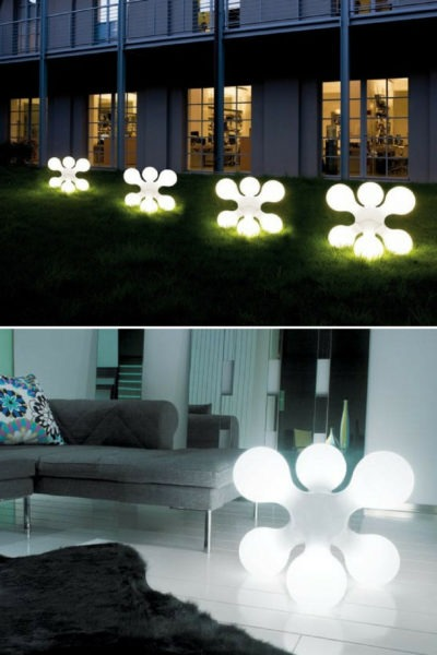 Cool Outdoor Lighting from Kundalini