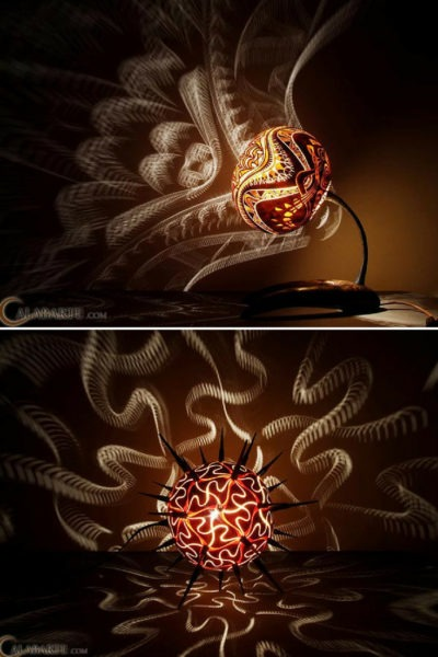 Lighting Gourd Desk Lamps
