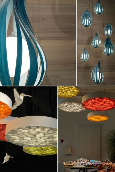 LuZiFer Semi-transparent Wood Pendant Lighting