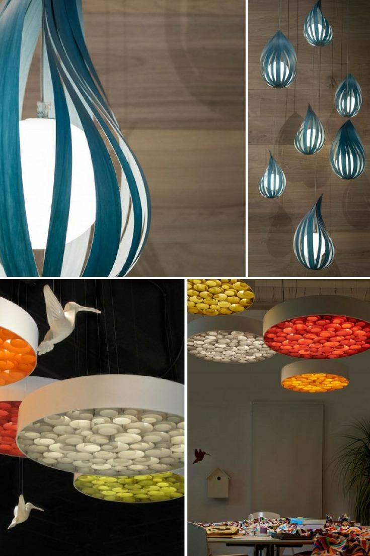 LuZiFer Semi-transparent Wood Pendant Lighting - wood-lamps, pendant-lighting