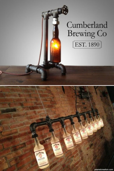 Steam Bottle Industrial DIY Pipe Lamp