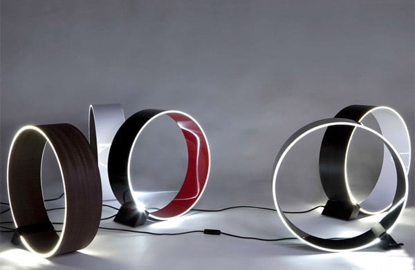 Circular Modern Table Lamp - desk-lamps