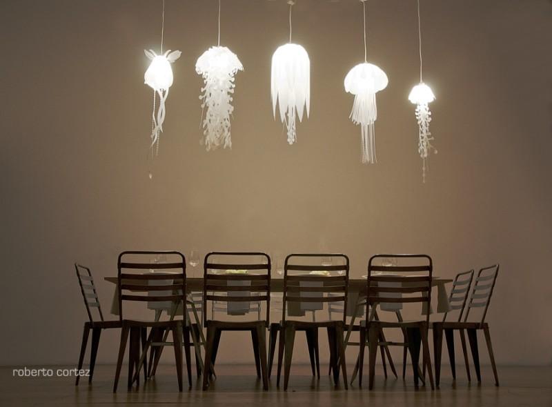 Eco Medusae Fish Pendant Light - pendant-lighting