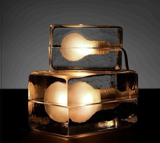 Ice and Light Table Lamps Desk Lamps
