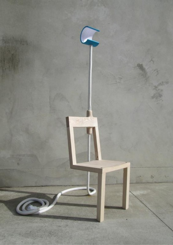 Lambent Chair Floor Lamp - wood-lamps, floor-lamps