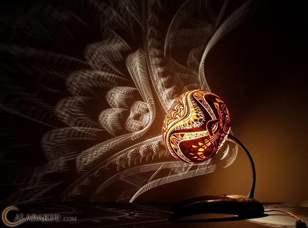 Lighting Gourd Desk Lamps - table-lamps