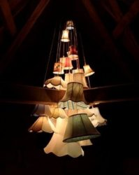 lampshades-chandelier
