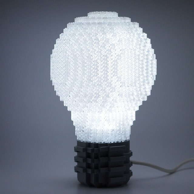 Lego Bulb Table Lamp - table-lamps