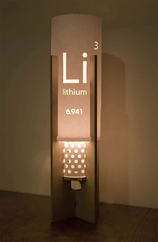 Lithium Design Table Lamp Floor Lamps