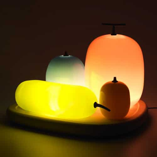 Luminous Fruit Table Lamps - table-lamps