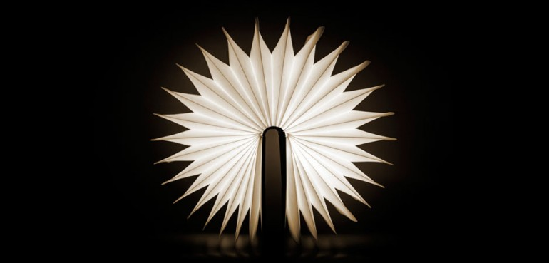 Lumio Illuminated Book as Wall Sconces Desk Lamps Wall Lamps & Sconces