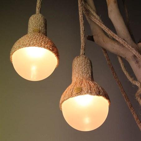Luna Lana Wool Pendant Lighting Pendant Lighting