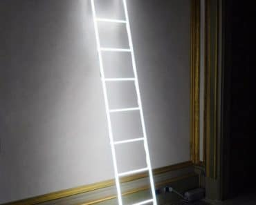 massimo-ubertis-neon-ladder-lamp