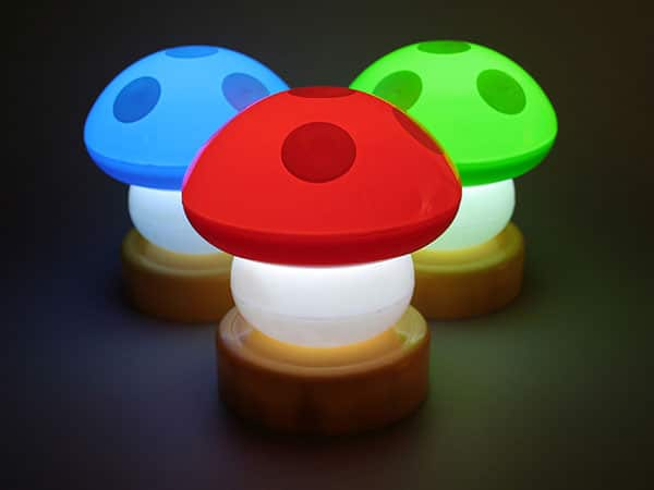 Mario Mushroom Lamps - table-lamps