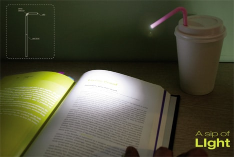 Sip Of Light Reading Bedside Desk Lamp