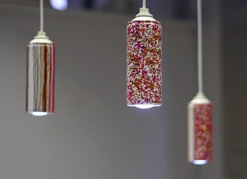 Recycled Spray Can Pendant Lighting - pendant-lighting