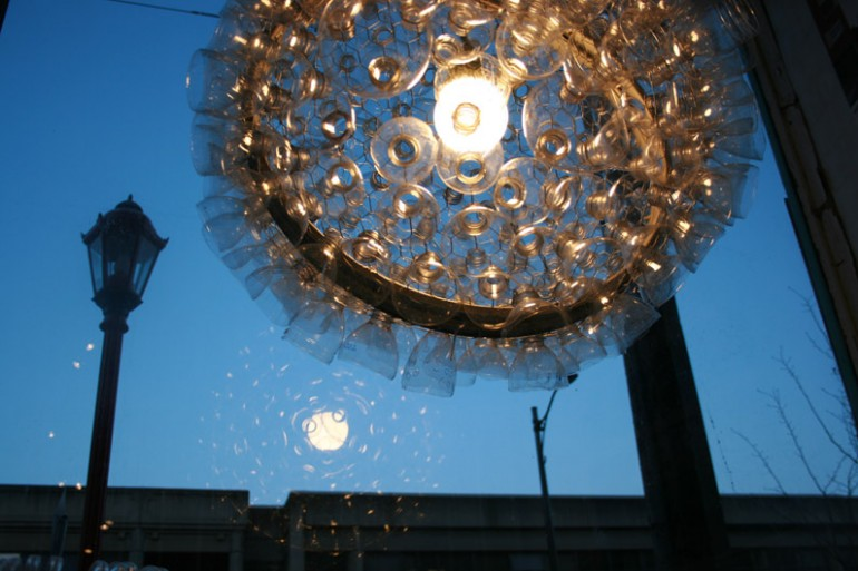 150 Glasses Lamp - chandeliers