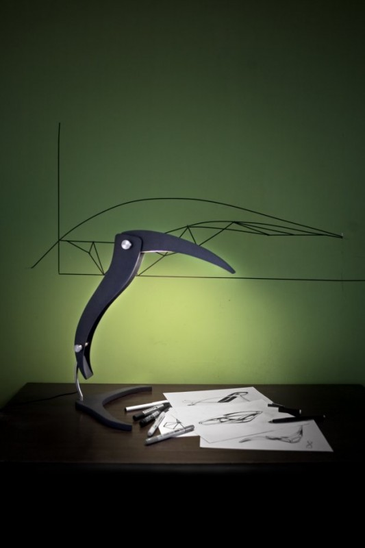 Big Bird Table Lamp - desk-lamps