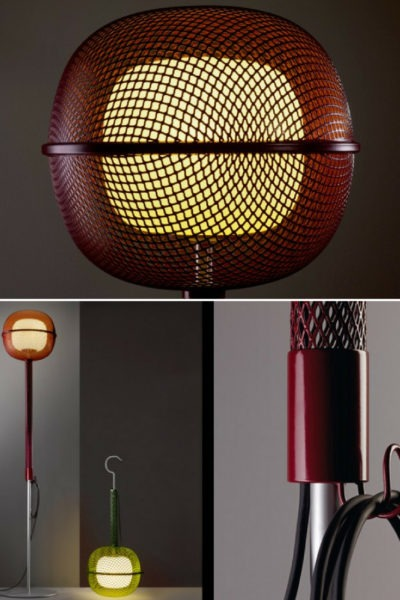 Grid Design Floor Lamp