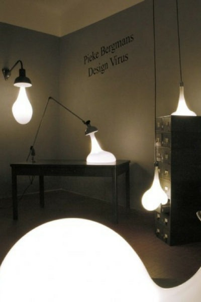 Liquefied bulbs Floor and Wall Lamps