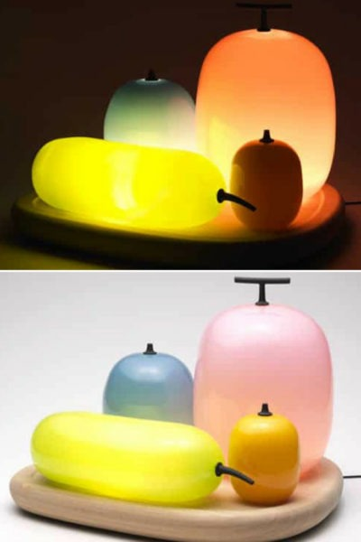 Luminous Fruit Table Lamps