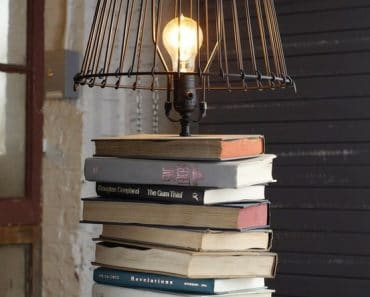 Bookish Lamp