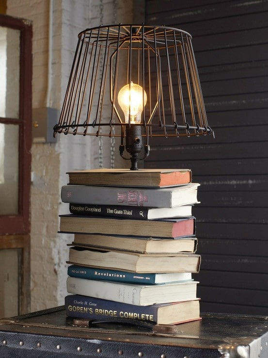 Bookish Table Lamp - table-lamps