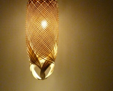 Braided lamp