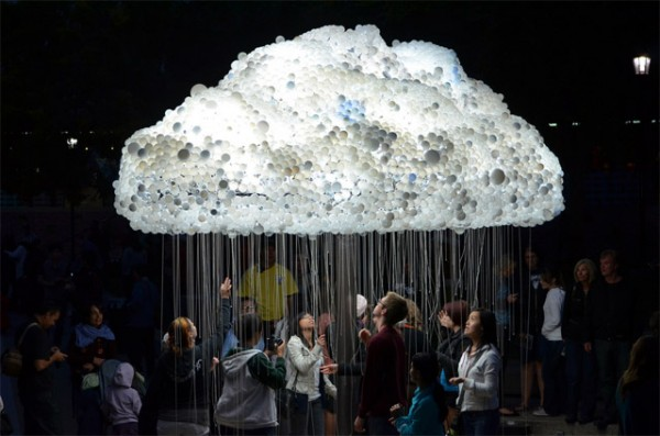 Cloud Light Huge Pendant Lighting - restaurant-bar, pendant-lighting