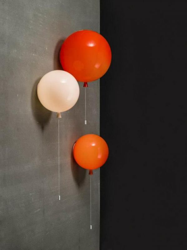 Colorful Helium Balloons Wall Sconces - wall-lights-sconces, pendant-lighting