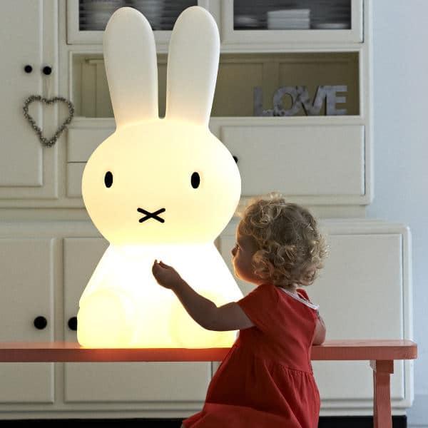 Giant Miffy Huge Kid Floor Lamp - floor-lamps