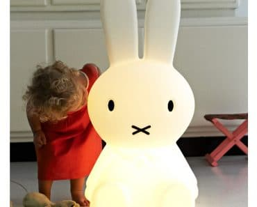 Giant Miffy Lamp