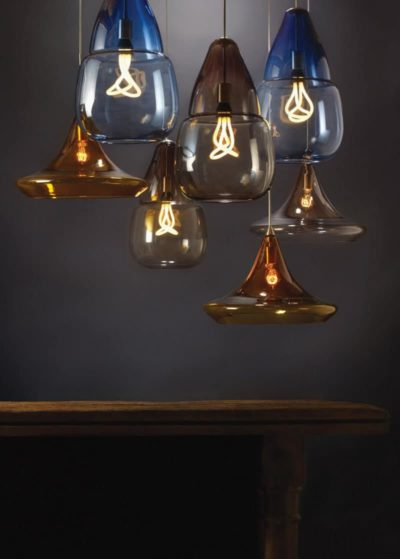 Hand-Blown Moroccan-Inspired Pendant Lights