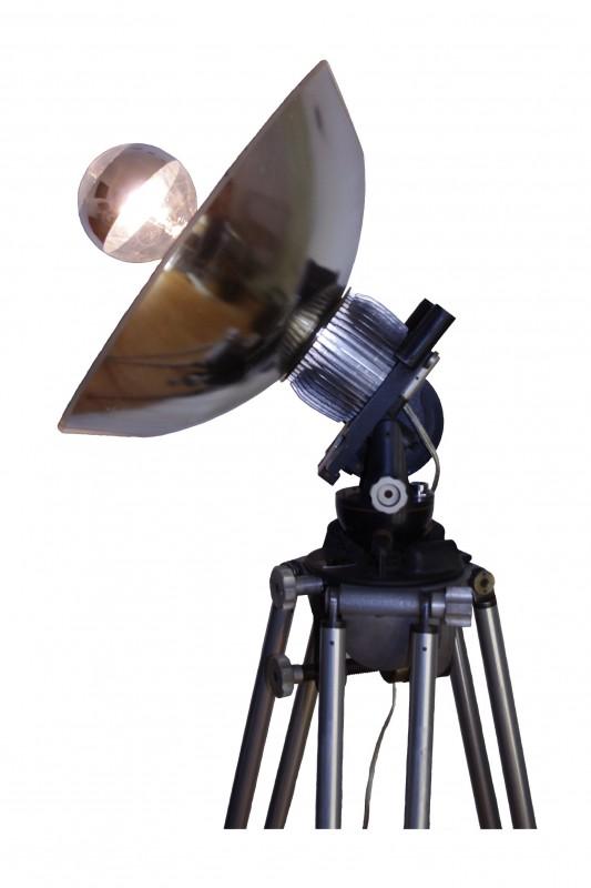 La Projection Antique Floor Lamp - floor-lamps