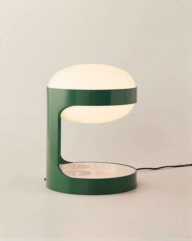 Lampada in Green Vintage Table Lamp - desk-lamps
