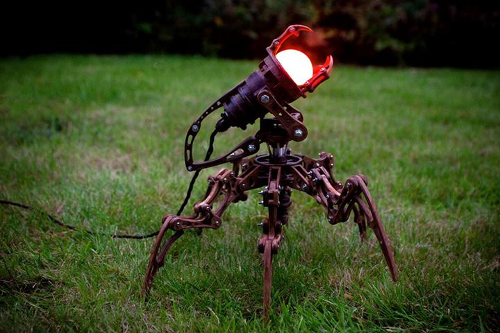 Metal Spider Garden Floor Lamp - floor-lamps