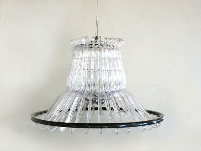 Plastic Hangers Lamp - pendant-lighting