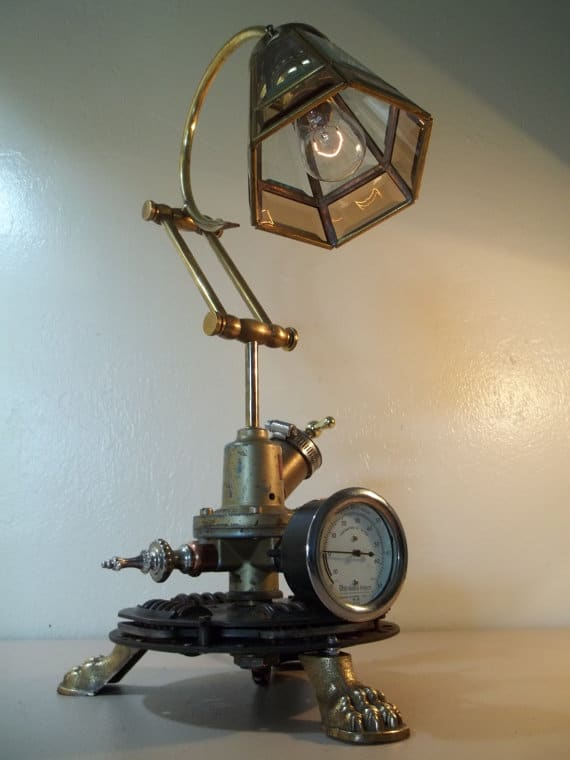 Steam Retro Works Table Lamp - desk-lamps