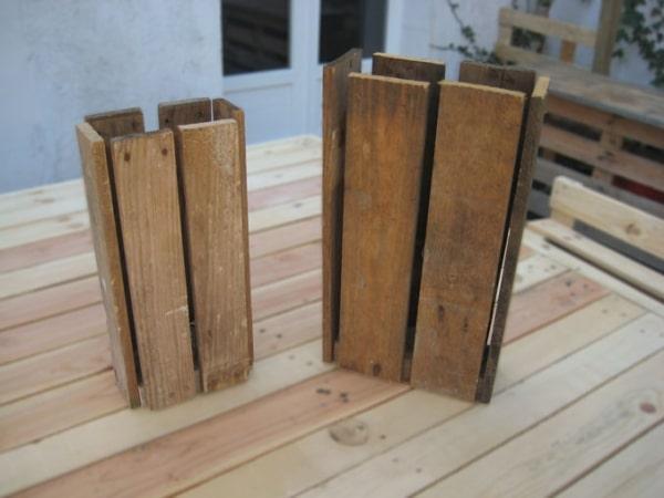 Wooden pallet floor lamp id lights - Mobilier en bois de palette ...