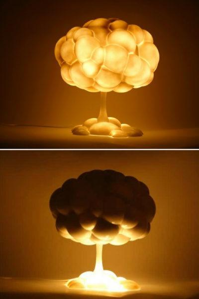 Explosive Mushroom Lamp