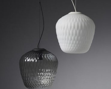 Blown-Glass Lamp