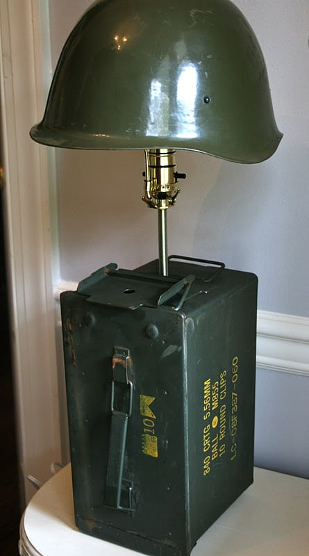 Call of Duty Rustic Vintage Lamp Table Lamps