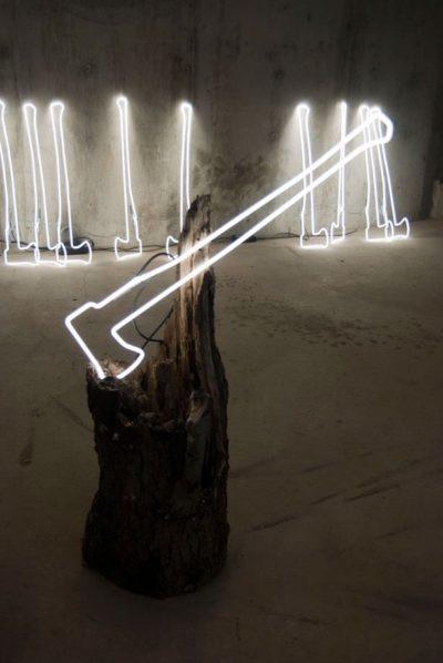 Illuminated Ax