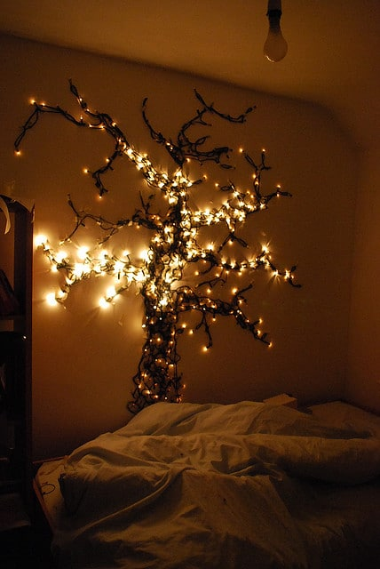 10 Ways to Decorate With String Lights