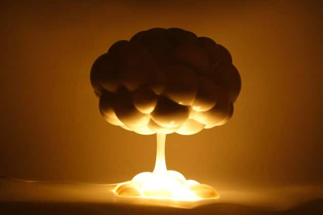 Explosive Mushroom Lamp - table-lamps